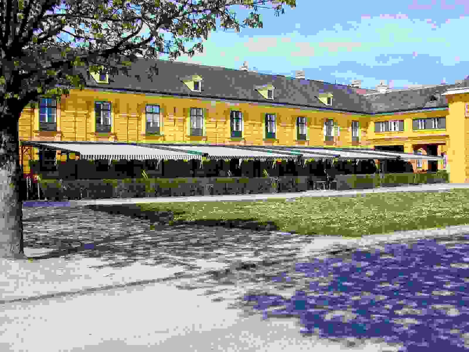 Cafe Residenz Schloss Schonbrunn Vienna Austria E Biasi