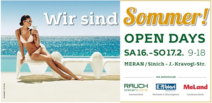 Open days 2019 bei Rauch Garden & Home
